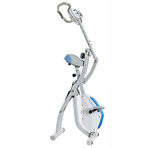 Cyclette Spinning Bike Home Exercise Bike Spinning Bike Pieghevole per Ufficio Attrezzatura per Home Fitness Pedale per Sportivi con Perdita di Peso
