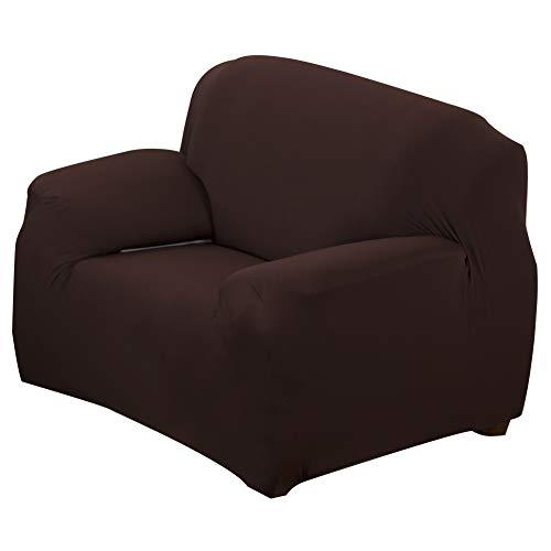 Oumefar Cubierta de sofá Dormitorio amigable con la Piel Transpirable para la Vida del hogar Sala de(Single Seat 90-140cm)