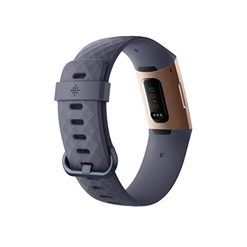 Fitbit最新フィットネストラッカーCharge3並行輸入(RoseGold/BlueGrey)