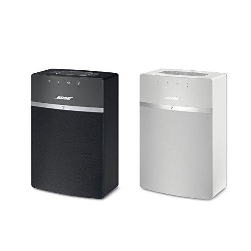 Bose SoundTouch 10, sistema musicale wireless, adatto per Alexa, Bluetooth/Wi-Fi, colore Nero