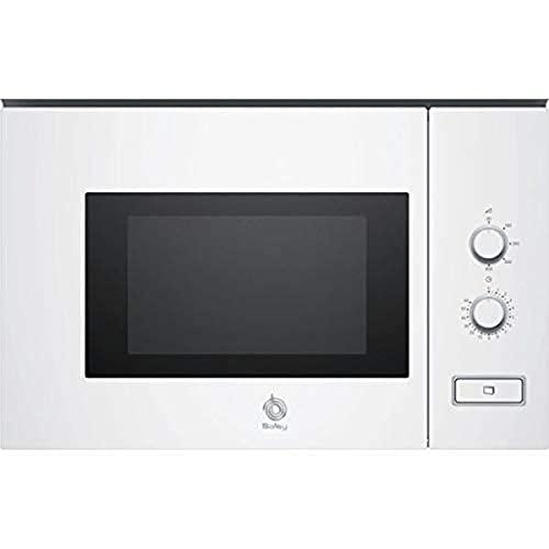 Balay 3CP5002B0 - Microondas integrable / encastre, 800 W, 20 L, color blanco