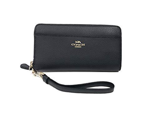 Coach Accordian Zip Phone Wallet Wristlet - - Mediu