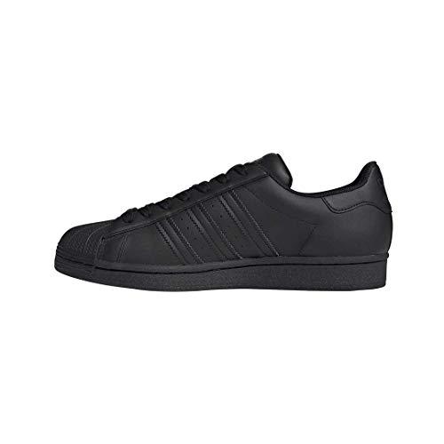 adidas Originals Superstar Shoes, Zapatillas Hombre, Negro, 52 2/3 EU