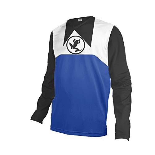 Uglyfrog 2020-2021 Winter Thermo Herren Mountainbike Downhill Freeride BMX Trikot Shirt Motocross Lange Ärmel MTB/Downhill Cycling Jersey Triathlon Bekleidung FZR08
