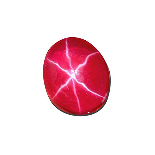 gemhub Natural Approximate 6.25 Ct. EGL Certified Brilliant 6 Rays Red Star Ruby Gemstone Loose Gemstone BP-034