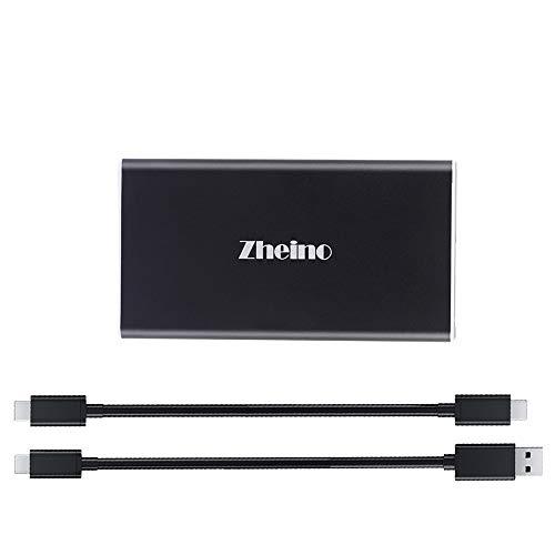 Zheino Externes tragbares SSD, USB 3.1 Gen 1 Typ C OTG Externes Solid State Drive (P1 128 GB)
