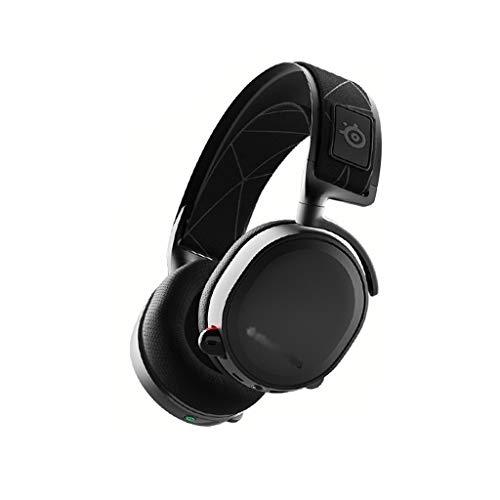 KODH Pro Wireless - Gaming Headset - Salut-Res - Enceintes sans Fil Double (2.4G et Bluetooth) - Double système de Batterie (Couleur : Noir, Taille : Bluetooth)