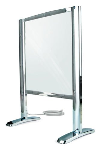 Thermique Freestanding Heated Glass Towel Warmer - Polished Chrome