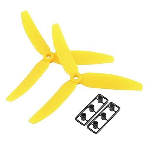 DingPeng 1 Paio 5030 a 3 Pale dell'elica Prop CW/CCW Plastica Pale Propel per RC. Aircraft Quadcopter Parte Drone Accessories