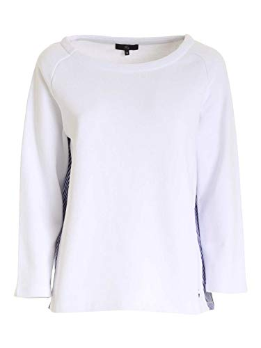 Fay Luxury Fashion Donna NJWB5426090RVSB001 Bianco Cotone Felpa | Ss21