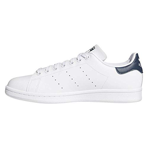 adidas Stan Smith, Sneaker Mujer, Color Blanco Footwear White Collegiate Navy 0, 38 EU