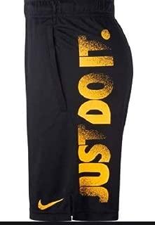 Nike Men's Dry Short 4.0 JDI, Blue(Black/Laser Orange010), Large