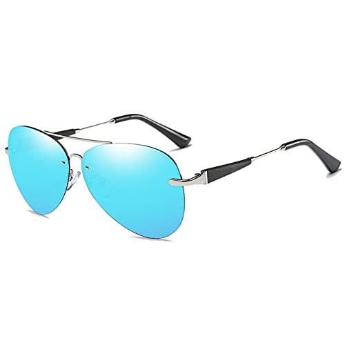 YUANCHENG Classics Pilot Gafas de Sol Hombre Tonos polarizados Gafas de Sol de conducción UV400