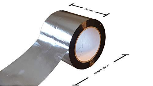 Alu Polypropylen Klebeband Aluminiumklebeband (10cm x 100m)