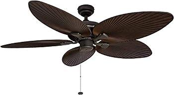 Honeywell 50207 Palm Island 52 Inch Tropical Ceiling Fan