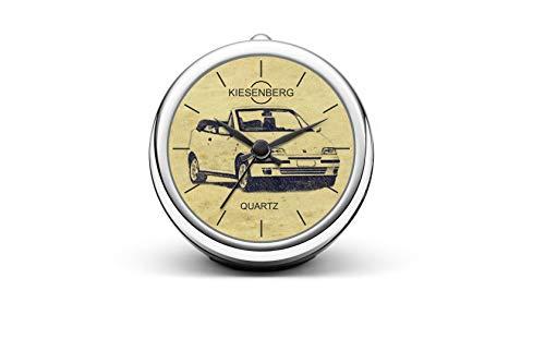 KIESENBERG T-6484 Reloj de mesa de diseño, regalo para FIAT Punto Cabrio Oldtimer Fan