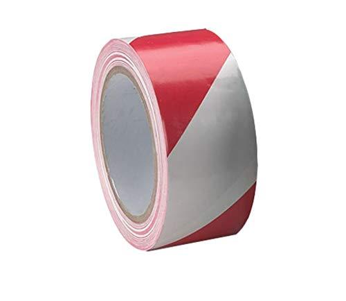 48mm x 33m rosso bianco Chrevron Yuzet PVC Floor Marking tape per Sports Hall Arena corte tennis badminton