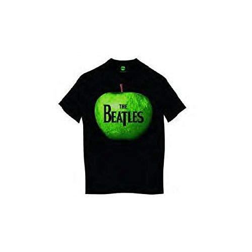 The Beatles Herren-T-Shirt, Apfel Gr. XL, Schwarz