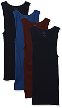 Fruit of the Loom Men s Tag-Free Tank A-Shirt 5 Pack - Assorted Colors X-Large
