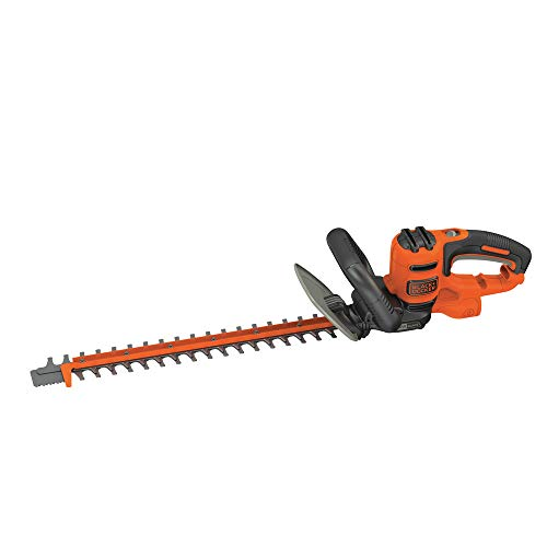 BLACK+DECKER Hedge Trimmer with Saw, 20-Inch (BEHTS300)