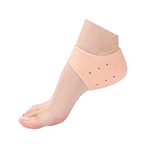 3 Paire Protecteur de talon kaki silicone talon Brace Pour Hard, la peau sèche