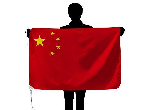 中国 国旗NO1 [70×105cm 高級テトロン製]日本製