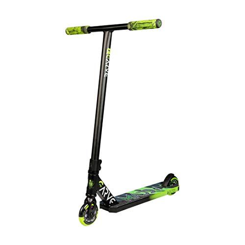 Madd Gear Carve Pro X 2020 Freestyle Stunt Scooter Roller Kickscooter Tretroller Stuntscooter (schwarz/grün)