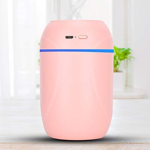 ZJchao Umidificatore d'Aria Ricarica USB Diffusore di Olio aromatico Deodorante Portatile Muto Idrata la Pelle per Auto da Camera da Letto di casa(Rosa)