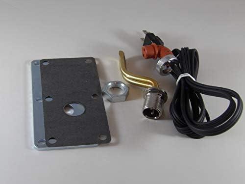 Engine Block Heater compatible with Massey Ferguson Wheel Tracto
