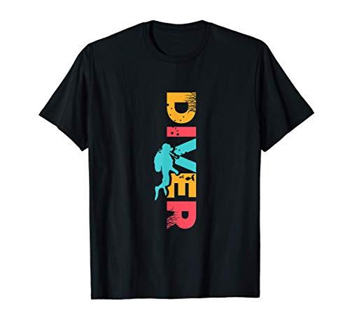 Diver Vintage Tauchen   Schnorcheln, Taucher & Schnorchler T-Shirt