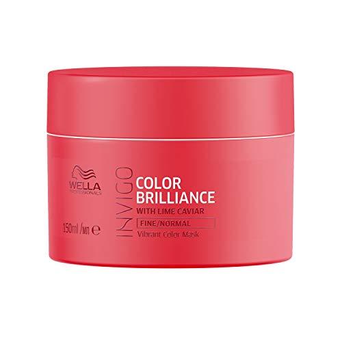 Wella Professionals Invigo Color Brilliance Mask for Fine/Normal Hair (Also Suitable for Colored Hair), 150 ml