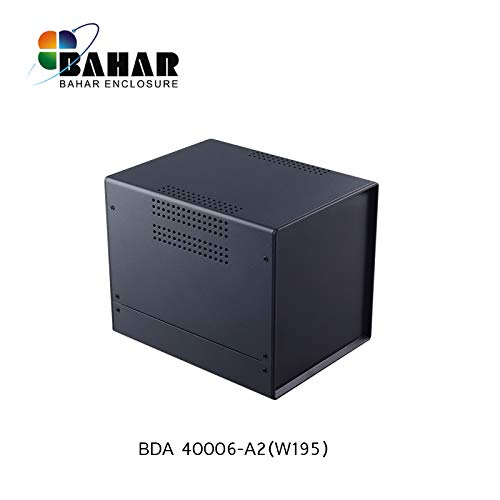 Bahar Enclosure 150*160*195 mm Metallgehäuse Eisengehäuse Iron Enclosure Eisen Box Instrument Gehäuse Industriegehäuse Stahl BDA 40006-A2 (W195)