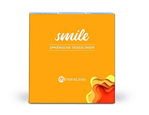 meineLinse Smile sphärische Tageslinsen 90 Stück (ehemals Oculsoft) (-5.00, 8.7, 14.0, 90)