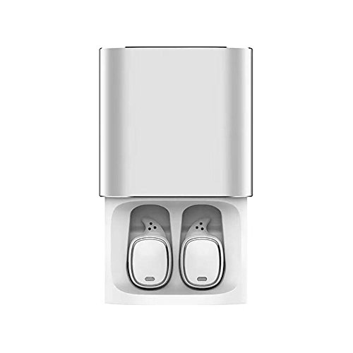 Puremood QCY T1 Pro Touch Control Bluetooth Earphones TWS Mini Wireless Headset Music Earbuds with Microphone Handsfree Calls Noise Cancelling 750mAh Charging Box