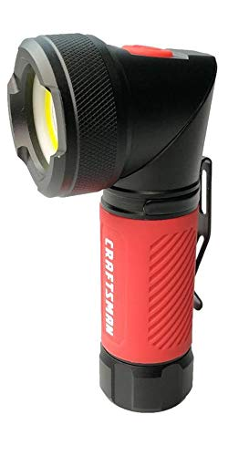 Craftsman 250 lumen LED flashlight with pivoting head and magnetic base