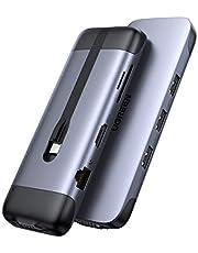 UGREEN USB C Hub Adapter 9 in 1 naar HDMI 4K, 3 USB 3.0 Poorten, SD en TF Kaartlezer, Gigabit Ethernet, VGA 1080P, 100W Power Delivery Macbook Pro 2020 2019 Macbook Air 2020 iPad Pro 2020 DELL XPS 13 15 enz.