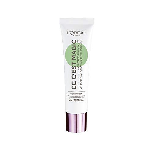 L'Oréal Paris - CC C'est Magic - CC Crème Embellisseur de Teint Anti-Rougeurs - Soin Teinté - Teinte : Universelle - 30 ml