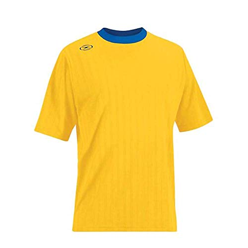 Tranmere Soccer Jersey - Adult Large, Athletic Gold/Royal