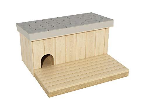 DIY Plans Pläne zu Bauen Eine Hundehütte mit Ein Terrasse