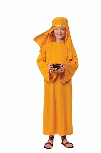 Forum Novelties Biblical Times Shepherd Gold Costume Robe, Child Small