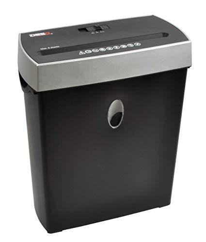 Desq 20009rendimiento Microcorte, laminación rmaschinen, 8hojas, 4x 29mm, Schwärz