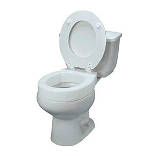 HealthSmart Portable Elevated Raised Toilet Seat Riser