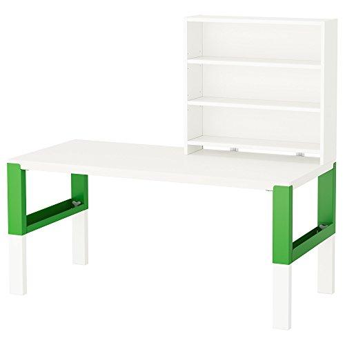 Zigzag Trading Ltd IKEA PAHL - Escritorio con estantería Blanco/Verde