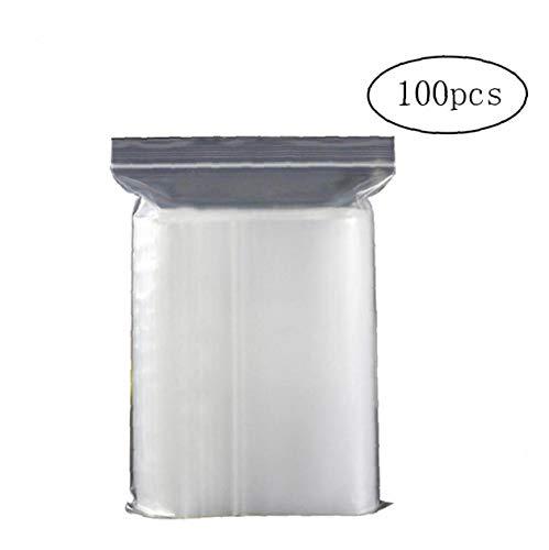 """100 grip seal sacs 3/"""" x 7.5/"""" auto auto-adhésive à fermeture zip plastique transparent sacs"""