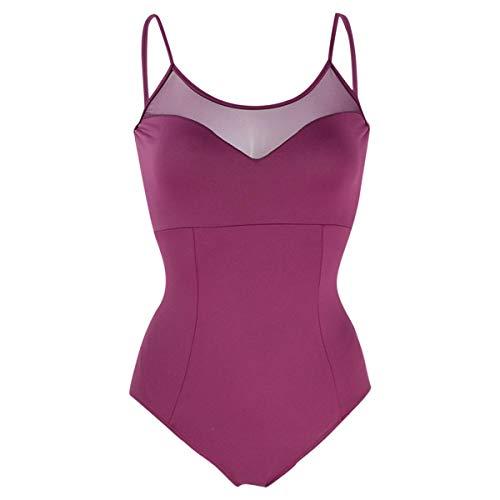 Intermezzo Damen Ballett Body/Leotard 31568 Bodymercos - Farbe: Granatapfel (275) - Größe: M
