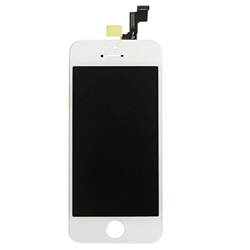 Sanka Display iPhone 5S LCD Schermo da Sostituire Screen Replacement Kit - Bianco
