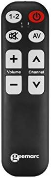 Geemarc Tv 5 Blk Lernfähige Universalfernbedienung Mit Elektronik