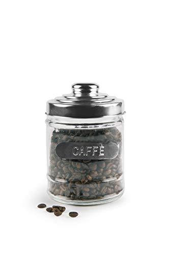 Excèlsa Kaffee Vorratsdose, Aluminium Deckel, 10x13 cm.