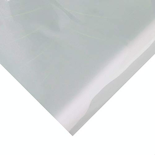 Translucent High Temp Thin Silicone Rubber Sheet 1/25 by 12 by 19.7 inch