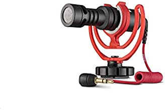 Rode VideoMicro Compact On-Camera Microphone with Rycote Lyre Shock Mount